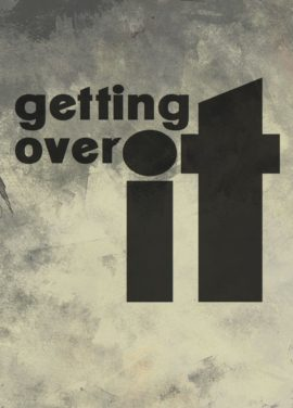 Getting over it logo web