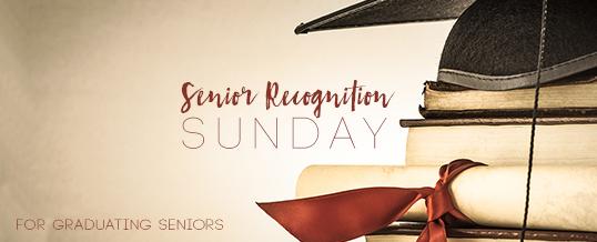 2018 Senior Recognition Sunday