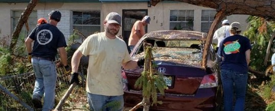 Hurricane Michael Recovery Work Day