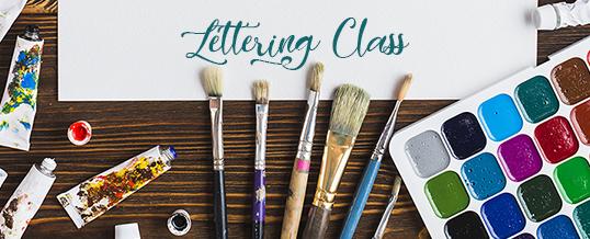 Women's Lettering Class