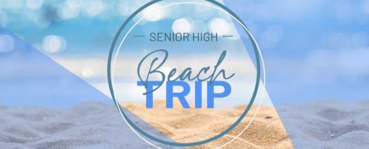 CovStudents – Sr. High Beach Trip